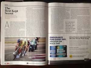 Bicycling Magazine January February 2013, Pages 42-43