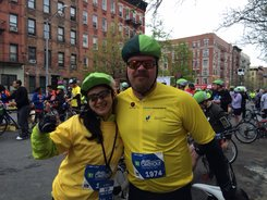 Patty and I at the start!